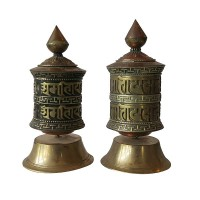 Small size table prayer wheel