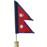 Nepal Flag 12 inch