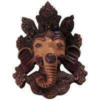 Antique large Ganesh mask 8 inch