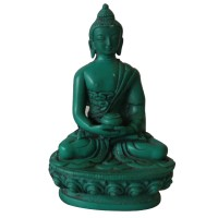 5 inch Turquoise color Buddha statue