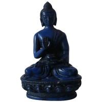 5 inch Blue color Buddha statue
