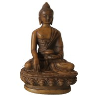 5 inch ivory color Buddha statue