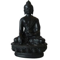 5 inch black color Buddha statue