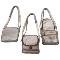 Hemp multipurpose shoulder bag