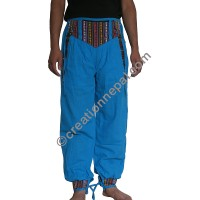 Bhutani lace turquoise trouser