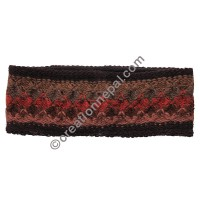 Woolen multi-color headband