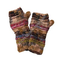 Colorful Olive tube gloves