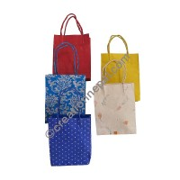 Colorful Lokta small gift bags