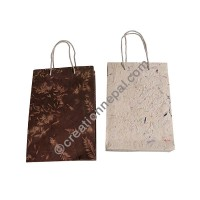 Lokta paper medium size bag