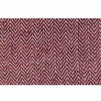 Hemp-cotton Red herringbone 29 inch fabric