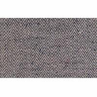 Hemp-cotton blue herringbone 29 inch fabric