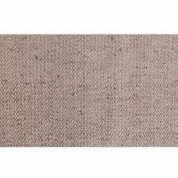 Hemp-cotton natural beige herringbone 29 inch fabric
