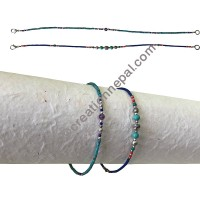Tiny stone beads assorted bracelet