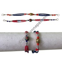 3-strand colorful bracelet