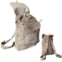 Hemp small ruck sack bag