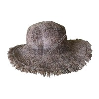 Natural hemp summer hat