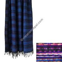 Colorful acrylic large shawl