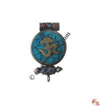 Sanskrit Om ghau pendant