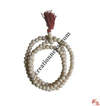 White bone prayer beads2