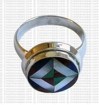 Tibetan design finger ring