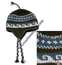 Woolen ear hat12