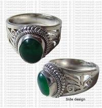 Net design finger ring 4