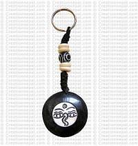 Bone key ring 12