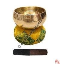 Medium plain singing bowl
