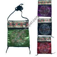 Mandala passport bag