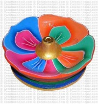 Lotus incense burner 01