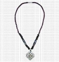 Endless knot Amulet necklace
