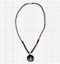Om mantra Amulet necklace 4