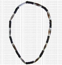 Bone beads necklace8