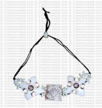 Endless-knot 3-piece bracelet