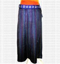 Sewn desin long skirt-19
