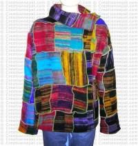 Light-weight soft choli jacket
