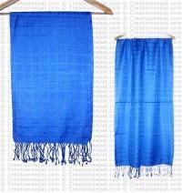 Plain cotton check scarf263