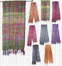 Jari-cotton loose scarf30