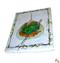 Two-color Bodhi leaf notebook-1