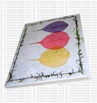 Three Bodhi leaf regular size notebook-4