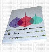 Three Bodhi leaf notebook-3