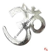 Carved OM symbol 1