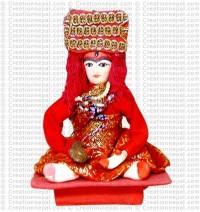 Kumari in sitting posture