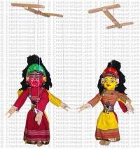 Mahakali-Bhairavi puppet