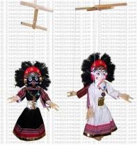 Mahakali-Ganesh big puppet