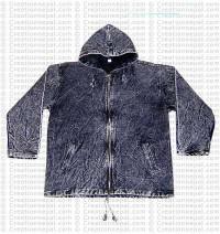 Cotton stonewash jacket