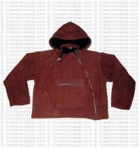Side-zipper ladies jacket