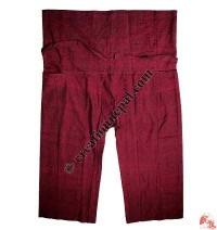 Shyama cotton sport type plain wrapper trouser3