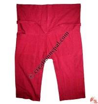 Shyama cotton sport type plain wrapper trouser5