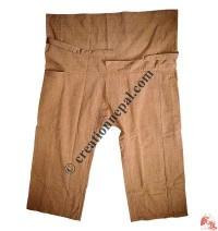 Shyama cotton sport type plain wrapper trouser7